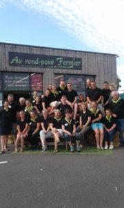Equipe Au Rond Point Fermier Agriculteurs