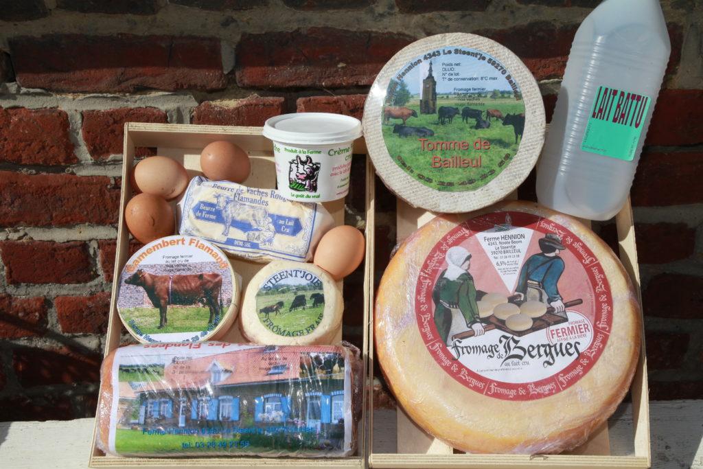 Plateau de fromage Ferme Hennion