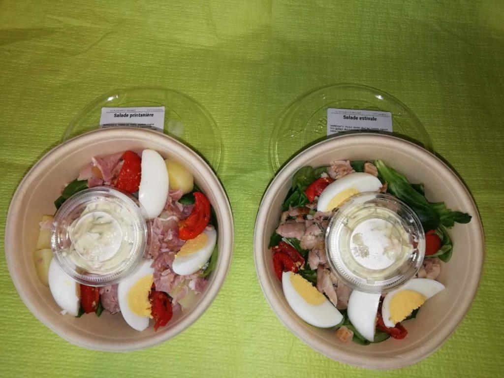 Salade Printannière et estivale - Au Rond Point Fermier